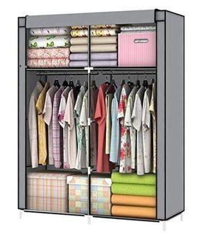 YOUUD Closet Portable Closet Organizer Portable Wardrobe - $33.99 MSRP for Sale in Menifee, CA