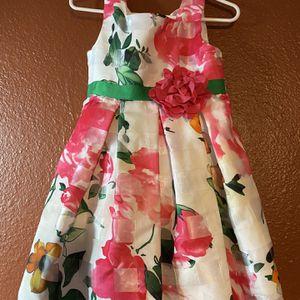 Girls Dress - Floral Dress - Occasion Dress - Toddler Flower Dress - 3T for Sale in Chandler, AZ