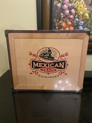 Mexican Train Dominoes Set by Front Porch Classics for Sale in Wesley Chapel, FL