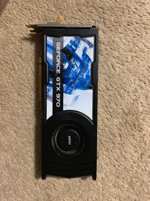GeForce gtx 970 for Sale in Franklin, MA