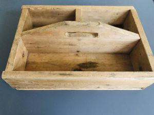 Custom handmade wooden toolbox w/handle for Sale in Katy, TX