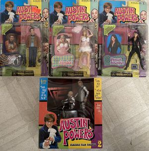 McFarlane Toys Austin Powers International Man of Mystery Action Figures ALL MOC!! for Sale in Santa Ana, CA