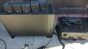 Bose acoustimass 6 surround sound set up for Sale in Fullerton, CA