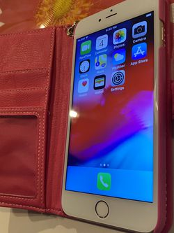 iPhone 6 Plus 64 Gig Gold With Wallet for Sale in Marietta,  GA