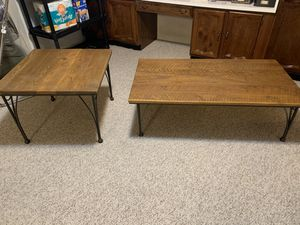 Rustic coffee and end table for Sale in Wheat Ridge, CO