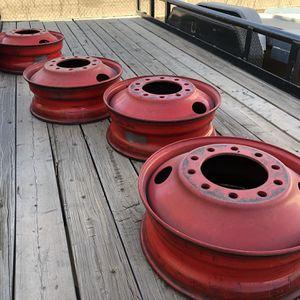 Accuride 24.5x8.25 Steel Wheels for Sale in Phoenix, AZ