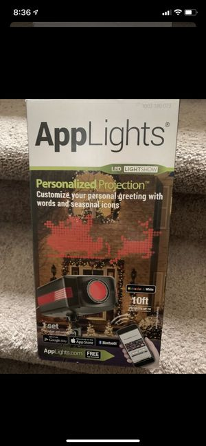 Personalized projector. For Christmas. -new for Sale in Middleburg Heights, OH
