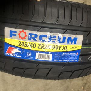245/40/ZR20 99Y XL Forceum Octa for Sale in Los Angeles, CA