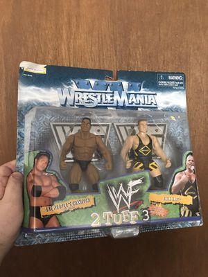 The Rock & Owen Hart WWF action figure for Sale in Lowell, MA