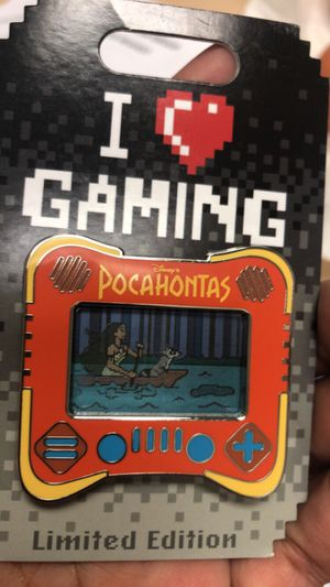 Disney I Heart Gaming Pocahontas Pin LE 2500 for Sale in San Leandro, CA