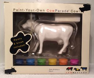 Paint Your Own Cow Parade (#7257) for Sale in Pittsburgh, PA