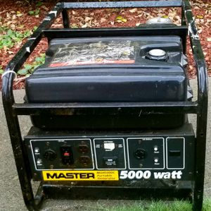 5000 watt generator with Honda motor for Sale in Canton, GA