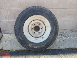 14.5 inch 6 lug trailer wheel for Sale in Montebello, CA