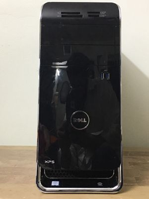 DELL XPS 8900 Core i7 6th gen 12GB RAM DDR4 500GB SSD 1TB HDD HDMI 2GB GPU Windows 10 dual display desktop computer for Sale in Pembroke Pines, FL