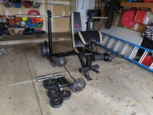 Weight Bench and Rack for Sale in Ontarioville, IL