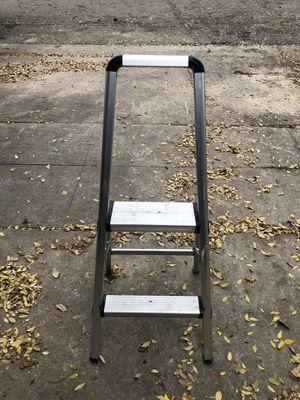 2 Step Aluminum Folding Ladder for Sale in Fresno, CA