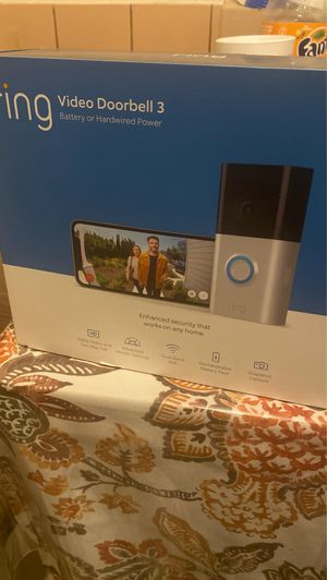 Ring Video Doorbell 3 for Sale in Santa Ana, CA