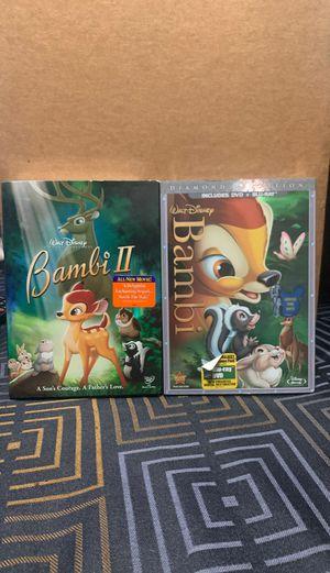 Bambi DVD's for Sale in Bellflower, CA