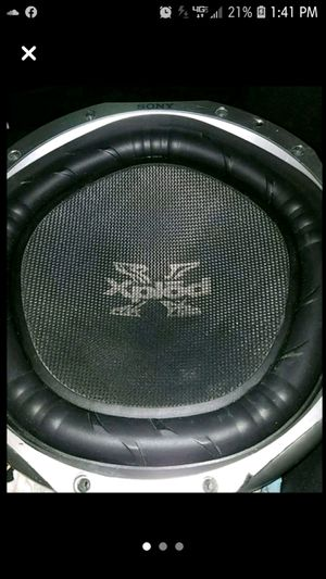 """12"""" Sony sub for Sale in Garfield Heights, OH"""