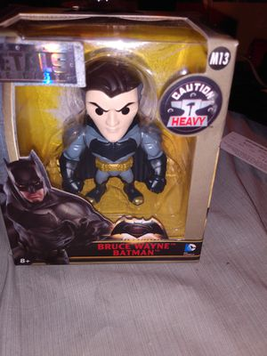 Bruce Wayne metal action figure for Sale in Massillon, OH