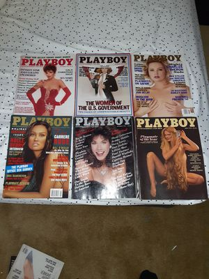 6 Playboy magazines. 60.00 firm for Sale in Boulder City, NV