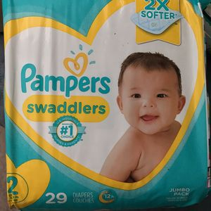 Pampers Size 2 for Sale in Riverside, CA