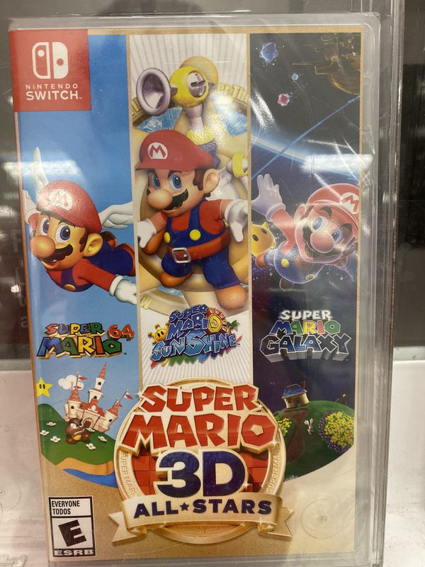 Super Mario 3D All star for Nintendo Switch