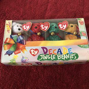TY Decade Jingle Beanies for Sale in Rancho Cucamonga, CA