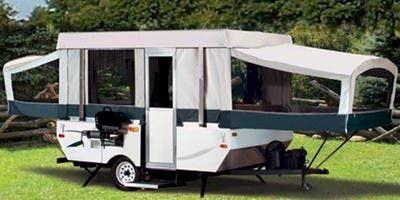 2010 Coleman Yuma Pop Up Camper