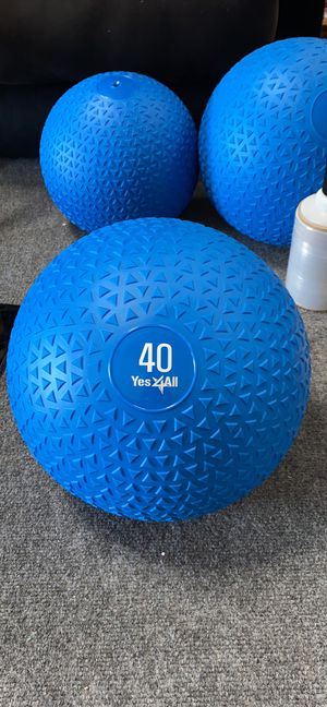 40lb Slam Ball for Weight Training and Endurance Training for Sale in Los Angeles, CA