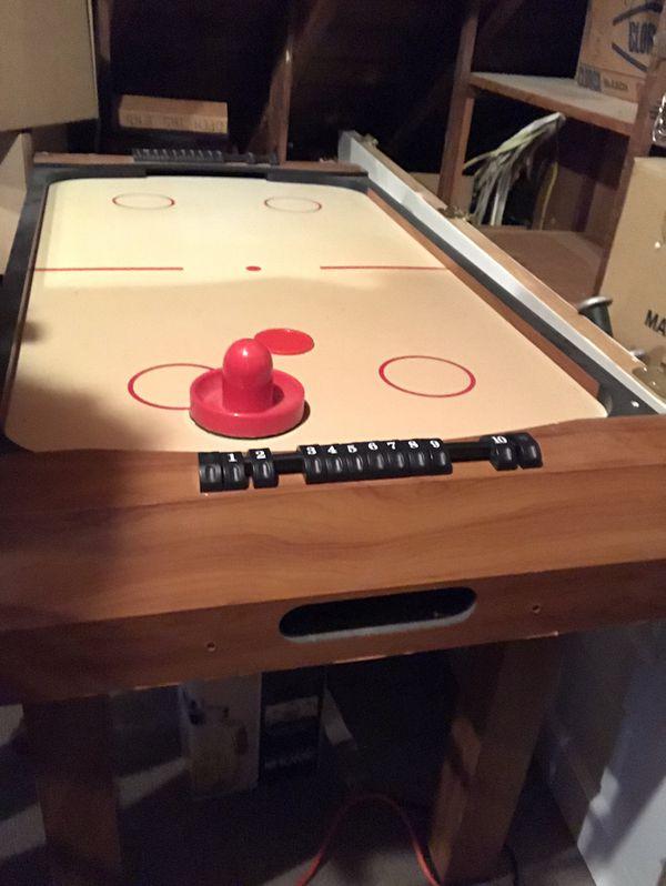 Air hockey table!