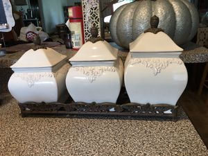 Ceramic kitchen storage container set for Sale in Titusville, FL