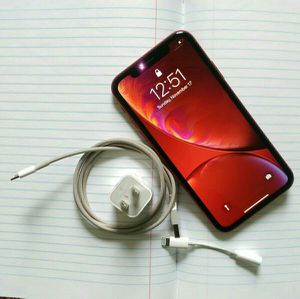Apple iPhone XR (T-Mobile/64GB/(Product) Red Edition/Good Condition) for Sale in Silver Spring, MD