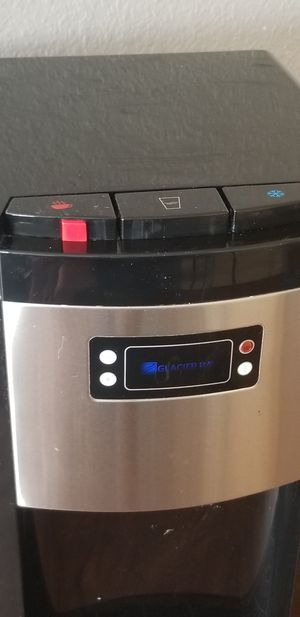 Bottom Load Water Dispenser (Hot, Room and Cold) Black/Stainless Steel for Sale in Downey, CA