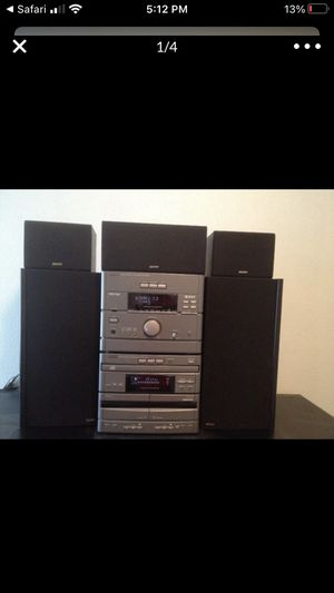 Denon personal component system stereo receiver D-1250 for Sale in Syosset, NY