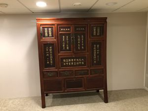 Antique china cabinet for Sale in Naperville, IL