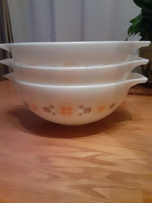 Vintage 1960s Pyrex Mixing Bowls for Sale in Forest Grove, OR