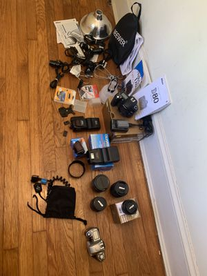 Moving Sale! Photography and Lighting Equipment for Sale in Silver Spring, MD