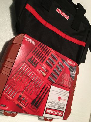 Craftsman IMPACT 100 pcs drilling and driving kit for Sale in La Mirada, CA