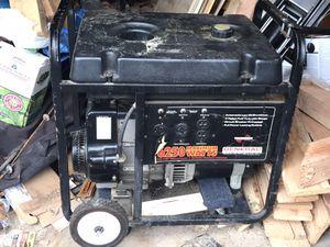 6250 peak watt generator for Sale in Tacoma, WA