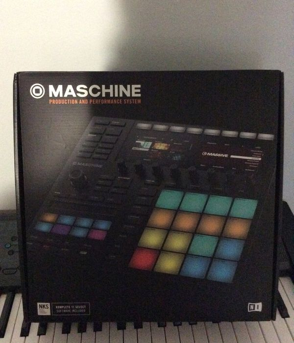 Maschine MK3 pads and software
