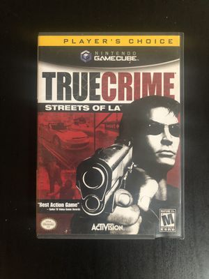 True Crime Streets of LA Nintendo Gamecube for Sale in Chula Vista, CA