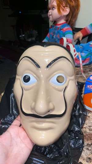 Money Heist Mask Casa De Papel Mascara for Sale in West Covina, CA