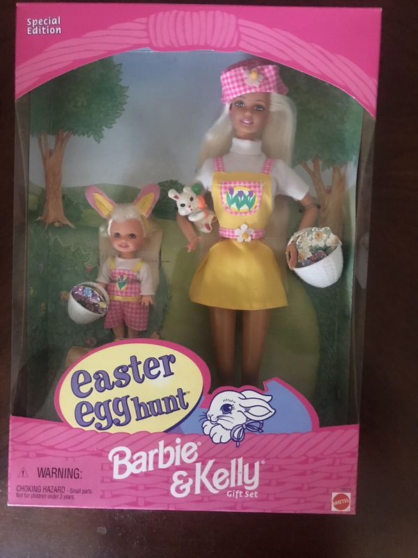 Special Edition Barbie & Kelly Easter Egg hunt