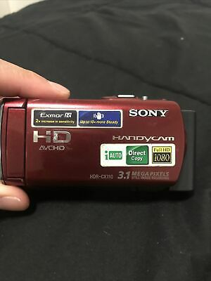 Sony HDR-CX110 3.1MP Digital HD Video Handycam Camera Recorder + Carrying Case for Sale in San Francisco, CA