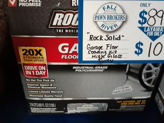 1 Car Garage Floor Coating Kit High Gloss for Sale in West Warwick,  RI