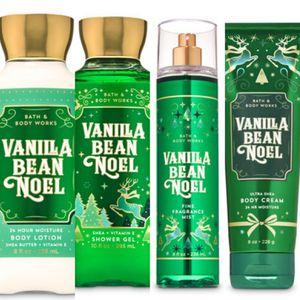 Bath & Body Works Vanilla Bean Noel Fragrance Gift Set NEW for Sale in West Hills, CA