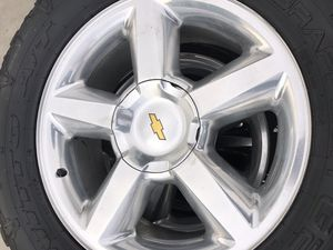 """20"""" Chevy stock rims Nitto tires for Sale in Dinuba, CA"""