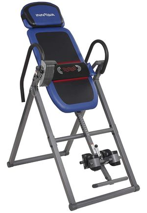Innova Health and Fitness ITM4800 Advanced Heat and Massage Therapeutic Inversion Table for Sale in Chino, CA