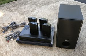 Sony 5.1 Audio/Video Receiver with Subwoofer (1000 Watts total!) for Sale in Fredericksburg, VA